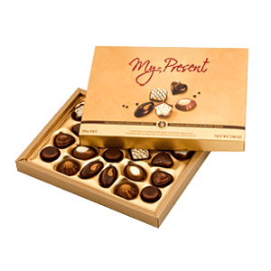 Коробка конфетс доставкой по Праге