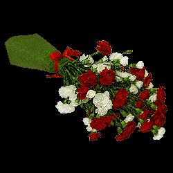 Букет из кустовых гвоздик