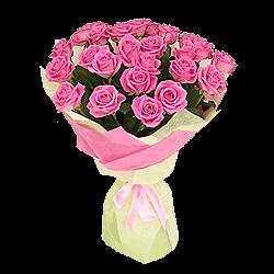 Букет из сиреневых роз