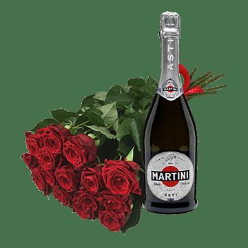 Розы и шампанское