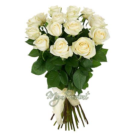 Букет из белых роз (60 см.)