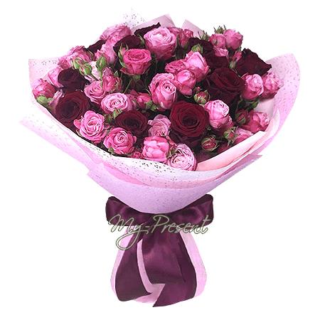 Букет из роз в Москве