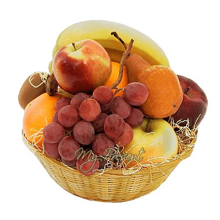 Корзина с фруктами в Бишкеке