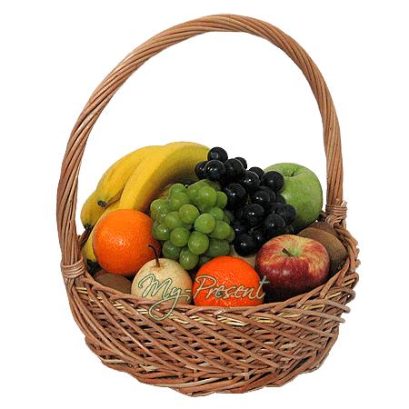 Корзина с фруктами в Краснодаре