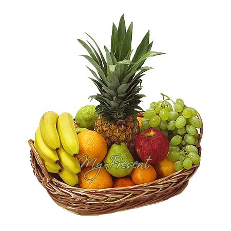 Корзина с фруктами в Киеве