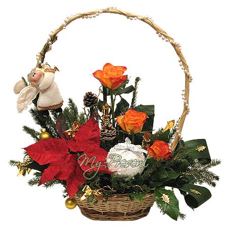 Рождественская корзина в Воронеже